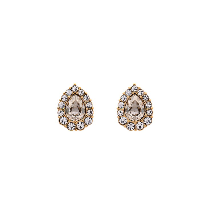 Lily and Rose - Amelie earrings - Crystal (Gold)