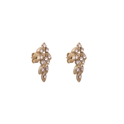 Lily and rose - Lulu earrings - Silk