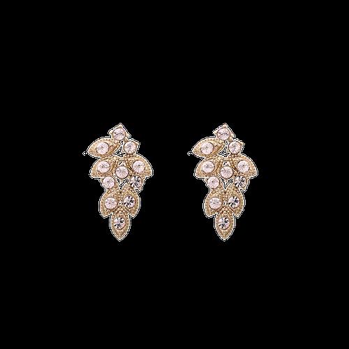 Lily and rose - Lulu earrings - Silk
