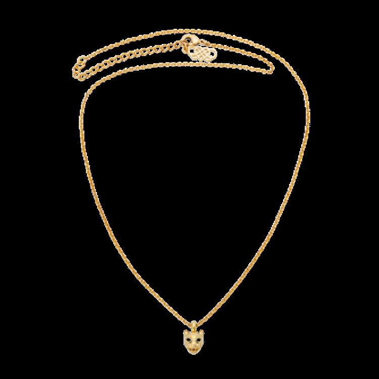 Miss Queen Sheba neckless - Guld
