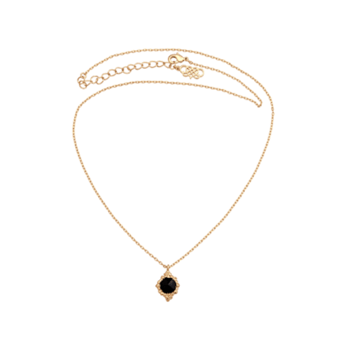 Lily and Rose - Miss Bonnie necklace - Jet (gold)