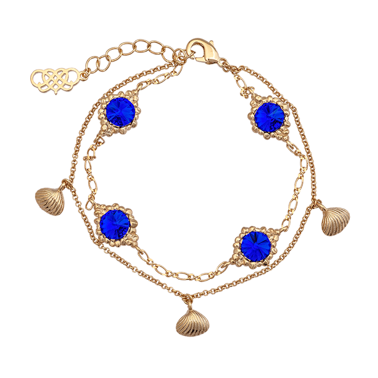 Lily and Rose - Bonnie bracelet - Majestic blue