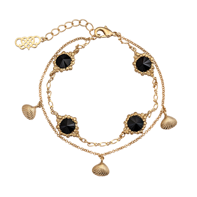 Lily and Rose - Bonnie Bracelet - Jet