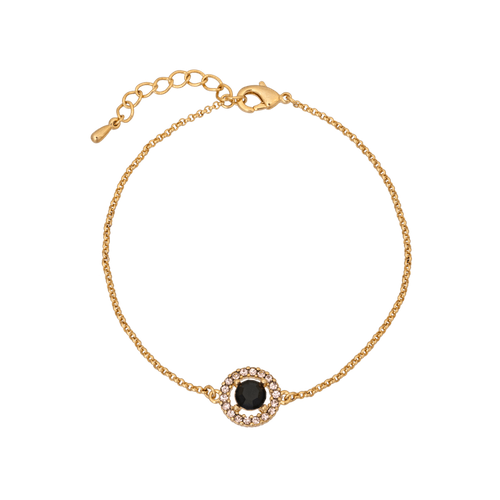 Lily and Rose - Miss Miranda bracelet - Jet (Gold)