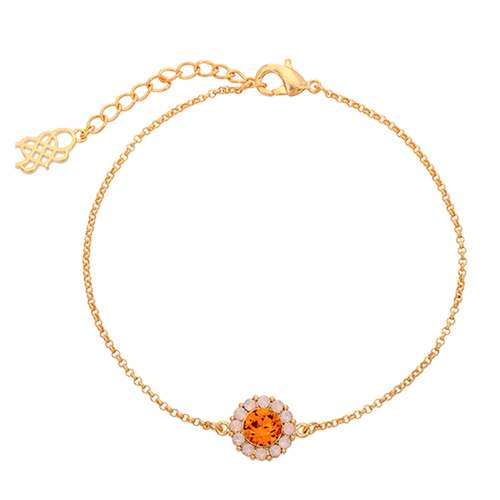 Lily and Rose - Celeste bracelet - Topaz Rose