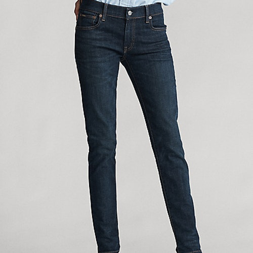 Ralph Lauren - Tompkins Skinny Jean with Polo - Dark indigo - 1299:-