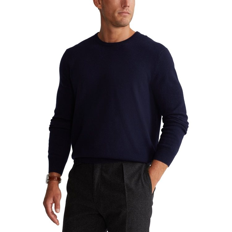 Ralph Lauren - Washable Cashmere Sweater - Hunter Navy - 2999:-