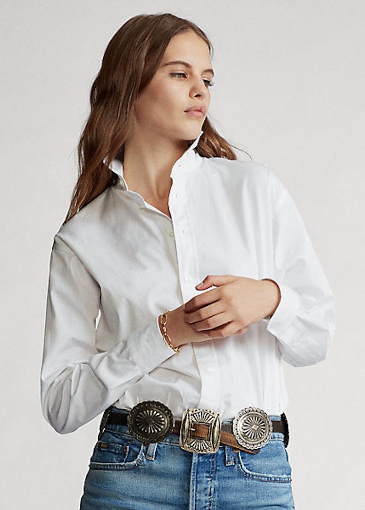 Ralph Lauren - Cotton broadcloth shirt White - 1299