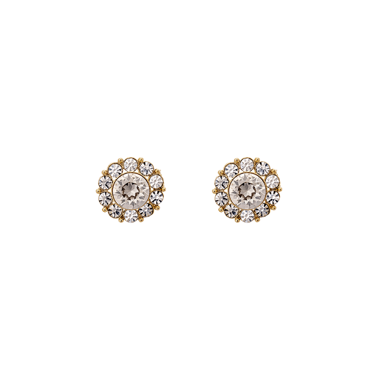 Lily and Rose -  MISS SOFIA EARRINGS – CRYSTAL (GOLD)