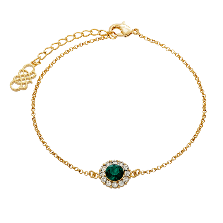 Lily and Rose - CELESTE BRACELET – EMERALD