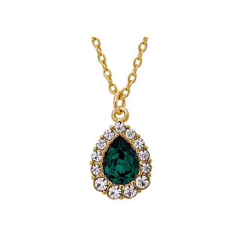 Lily and Rose - AMELIE NECKLACE – EMERALD