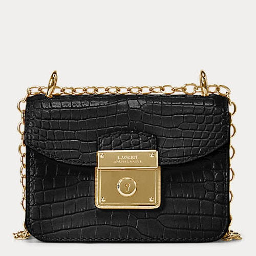 Ralph Lauren - Mini Beckett Crossbody Bag - Black