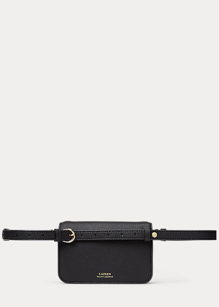 Ralph Lauren - Leather Crossbody Bag - Black