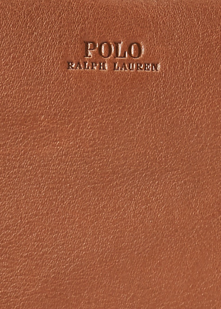 Ralph Lauren - Leather Sloane Satchel - Saddle