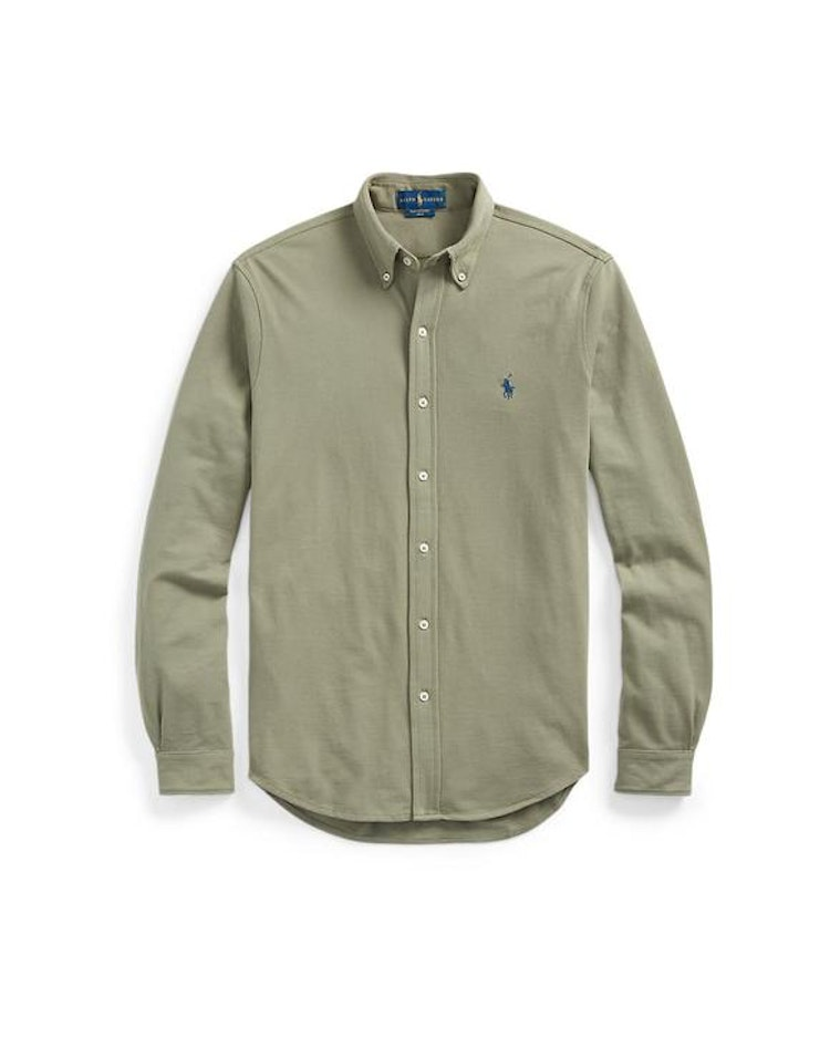 Ralph Lauren - Featherweight Mesh shirt green