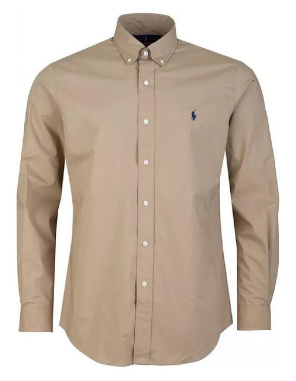 Ralph Lauren - Surrey tan shirt