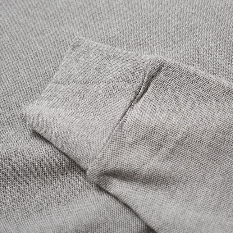 Ralph Lauren - Lättvikts pollover med huva grå