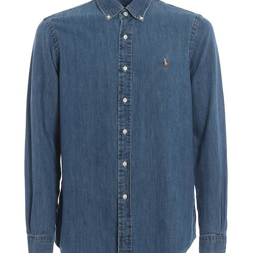 Ralph Lauren - Camicie long sleeve shirt demin