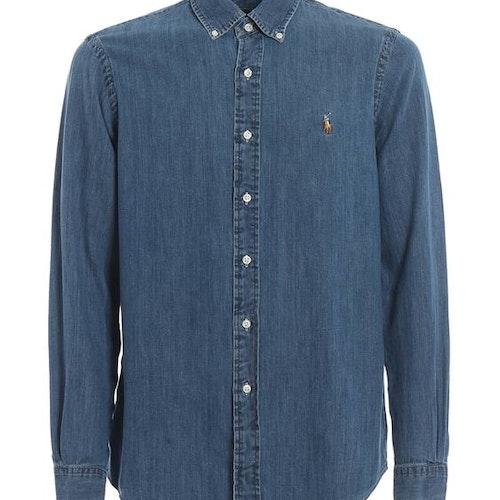 Ralph Lauren - Camicie long sleeve shirt demin