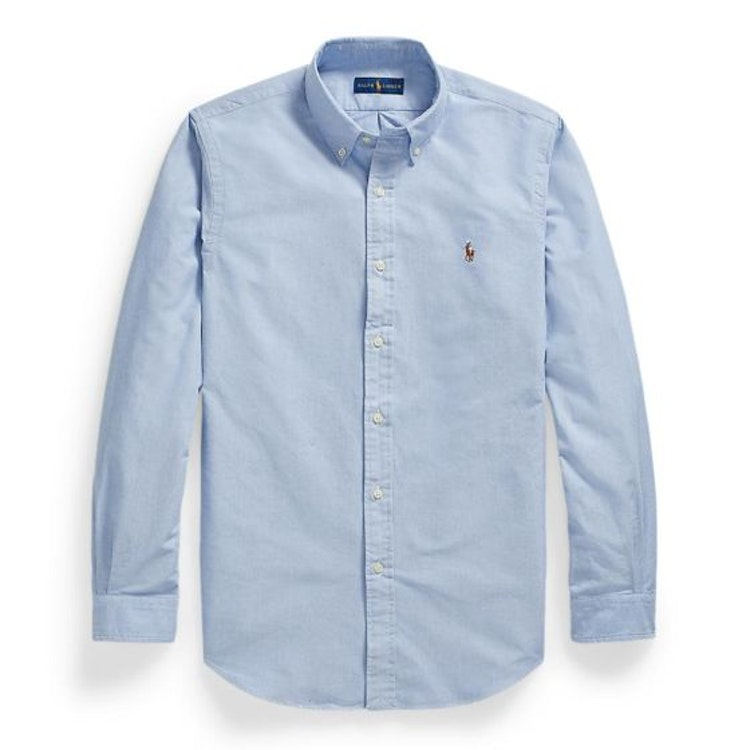 Ralph Lauren - Oxford custom fit core replen blue