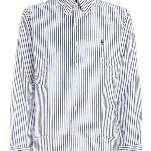 Ralph Lauren - logo stripes shirt blue/white
