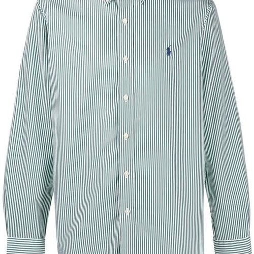 Ralph Lauren - Striped shirt green