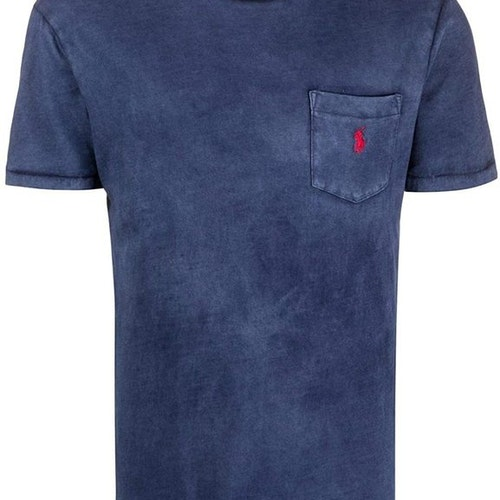 Ralph Lauren - One pocket t-shirt Navy/red