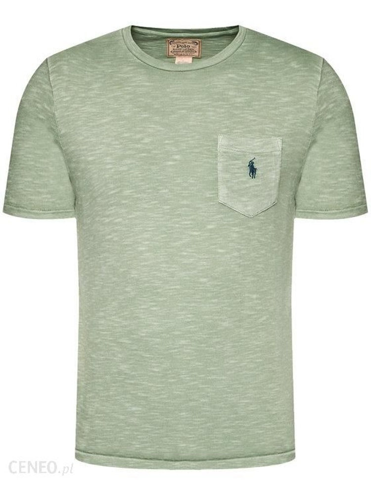 Ralph Lauren - One pocket t-shirt Pistachio/navy