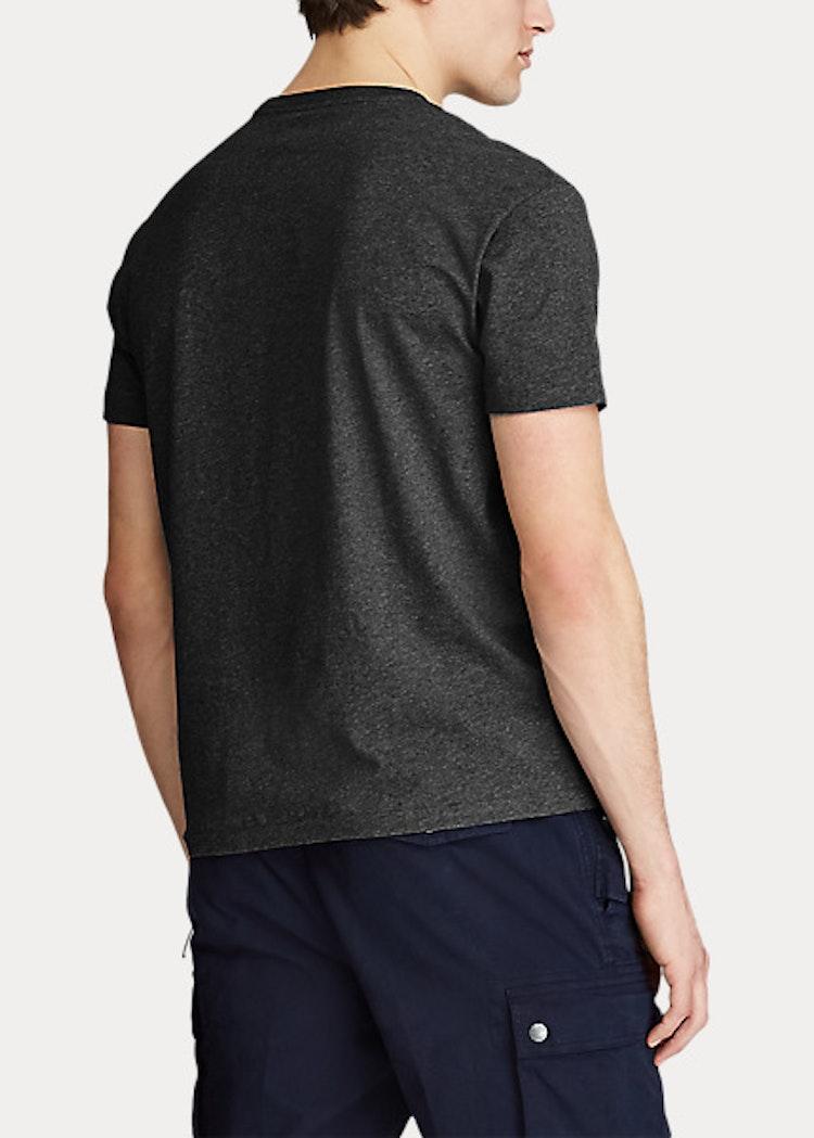 Ralph Lauren - Custom slim fit crewneck t-shirt black