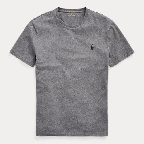 Ralph Lauren - Custom slim fit crewneck t-shirt - Grey
