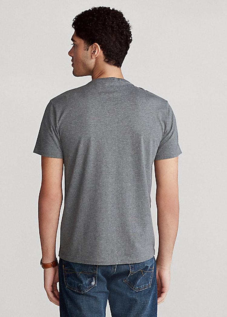 Ralph Lauren - Custom slim fit crewneck t-shirt - Grey