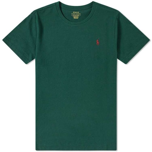 Ralph Lauren - T-shirt green/red