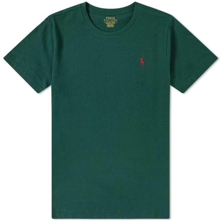 Ralph Lauren - T-shirt green/red