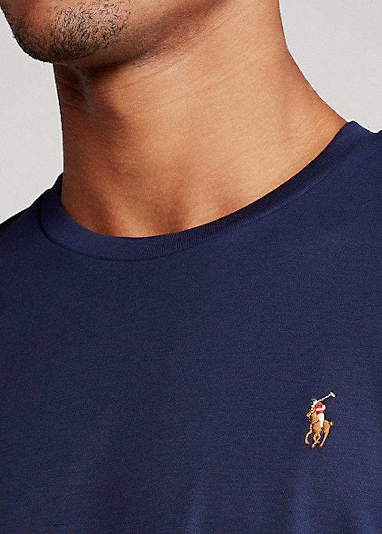 Ralph Lauren - Custom Slim Fit Soft Cotton T-Shirt Navy