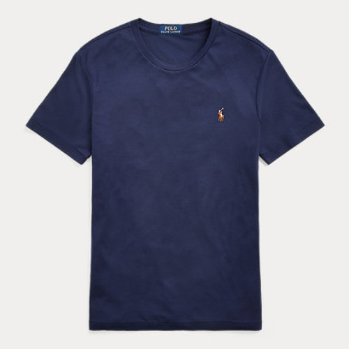 Ralph Lauren - Custom Slim Fit Soft Cotton T-Shirt Navy