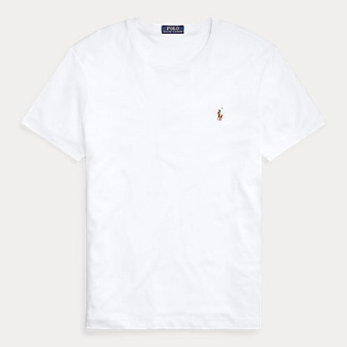 Ralph Lauren - Custom Slim Fit Soft Cotton T-Shirt White