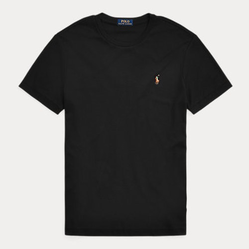 Ralph Lauren - Custom Slim Fit Soft Cotton T-Shirt Black
