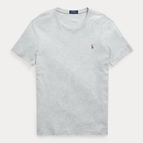 Ralph Lauren - Custom Slim Fit Soft Cotton T-Shirt - Grey