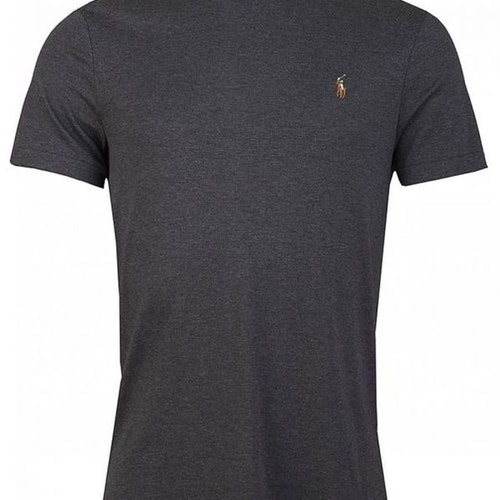 Ralph Lauren - Custom slim fit soft cotton t-shirt - Grey heater