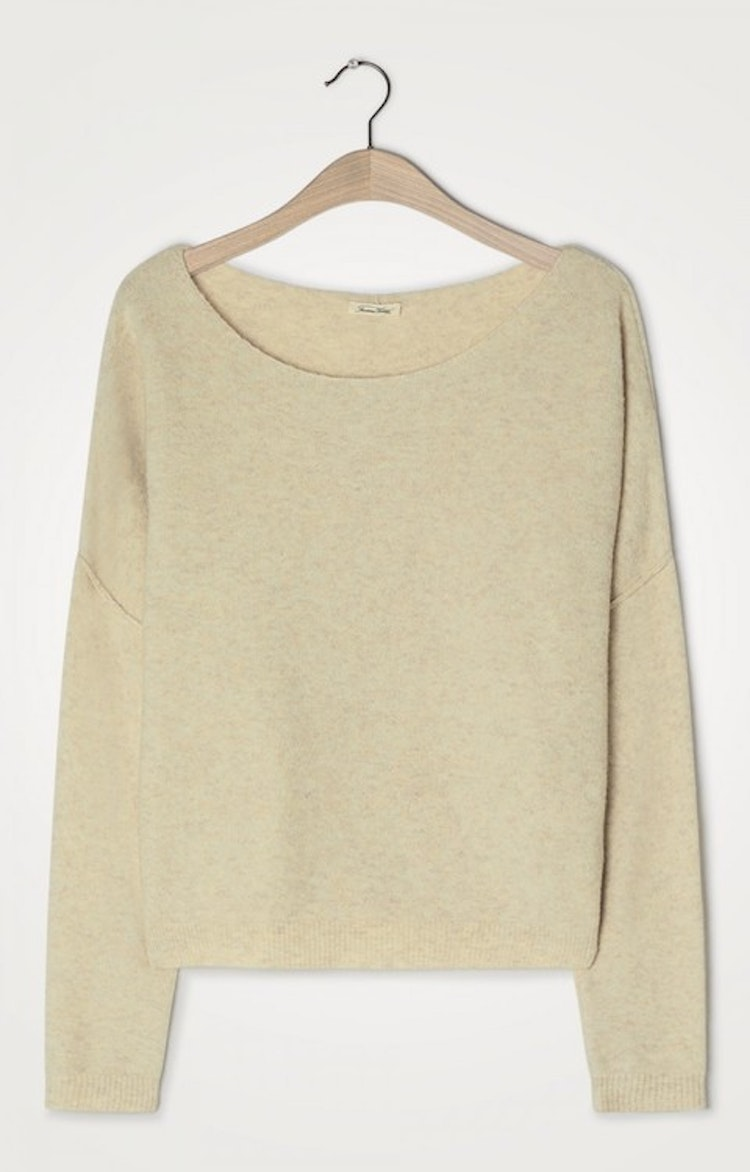 WOMEN'S JUMPER DAMSVILLE - SABLE CHINE