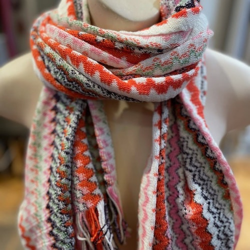 Missoni - Scarf multicolour  with glitter