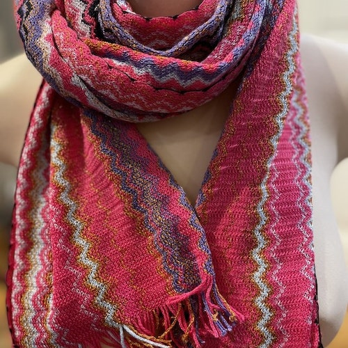 Missoni - Multi Colour Glitter Scarf