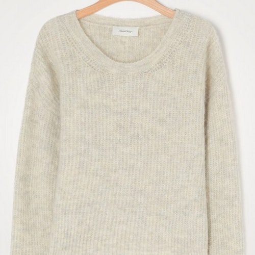 WOMEN'S JUMPER EAST - POUDREUSE CHINE