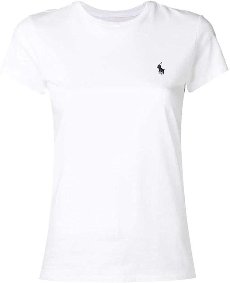 Ralph Lauren - Vit T-shirt med blå häst