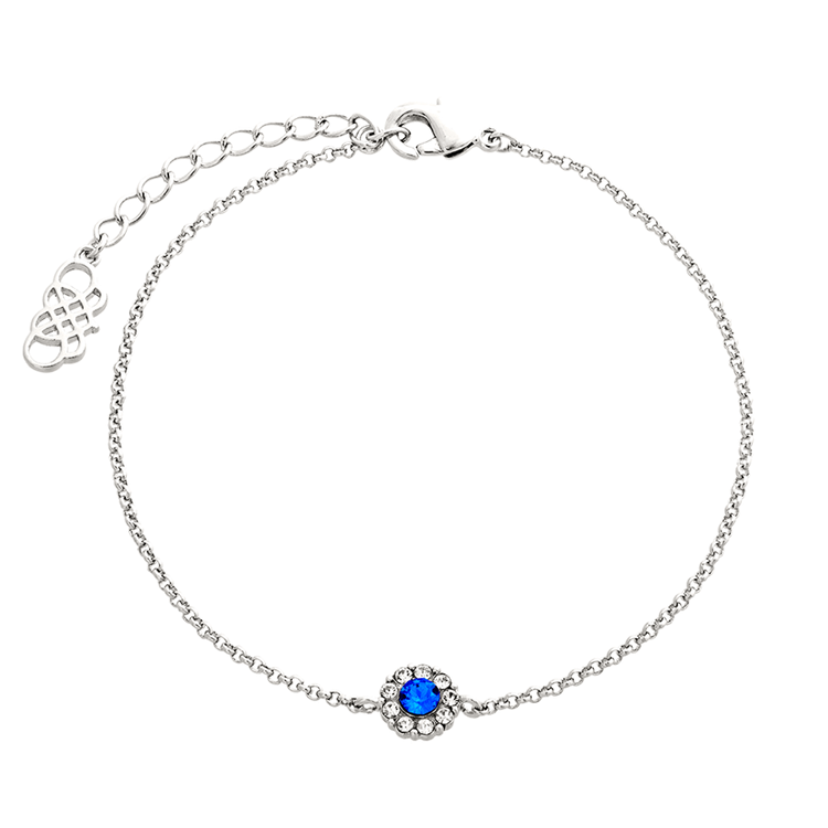 Lily and Rose - PETITE MISS SOFIA BRACELET – SAPPHIRE (SILVER)