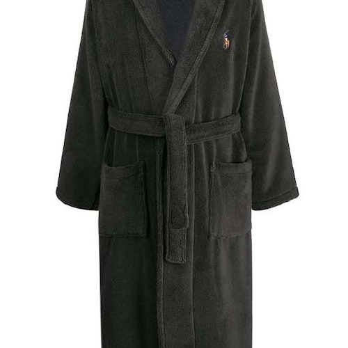 Ralph Lauren - Charcoal Grey Robe Dressing Gown