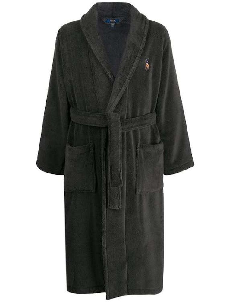 Ralph Lauren - Charcoal Grey Robe Dressing Gown