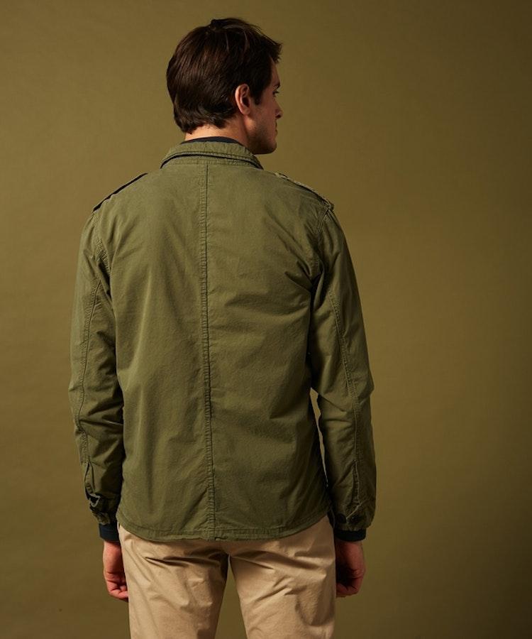 Hartford - Joshua military jacket - Olive green