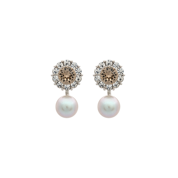 Lily and Rose - MISS SOFIA BUTTERFLY EARRINGS – DIAMOND GREY