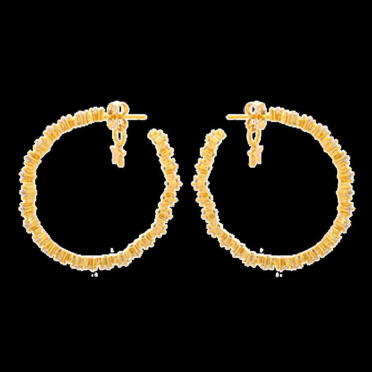 MRS CAPELLA EARRINGS – CRYSTAL (GOLD)